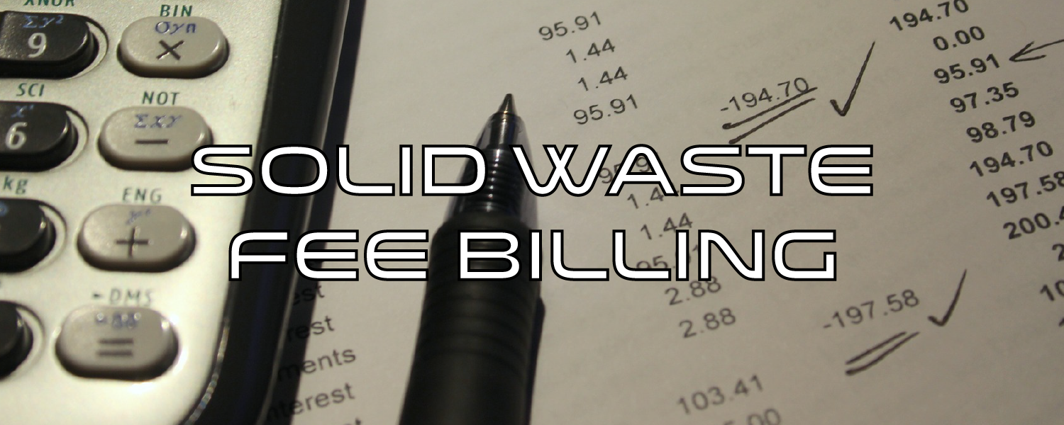 Solid Waste Fee Billing